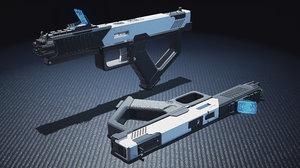 weapon bullet magazine 3D