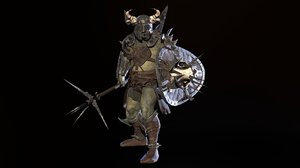 armor weapon animations model