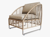 3D model season sun chair