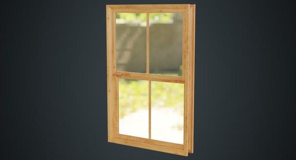 window 1a 3D model