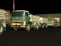 liaz 4x4 panav trailer 3D