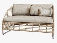 3D sofa season sun
