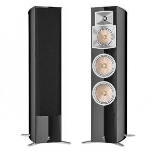 yamaha speakers 3D model