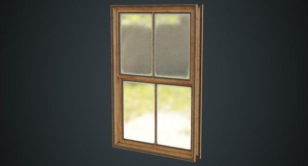 window 1b 3D model