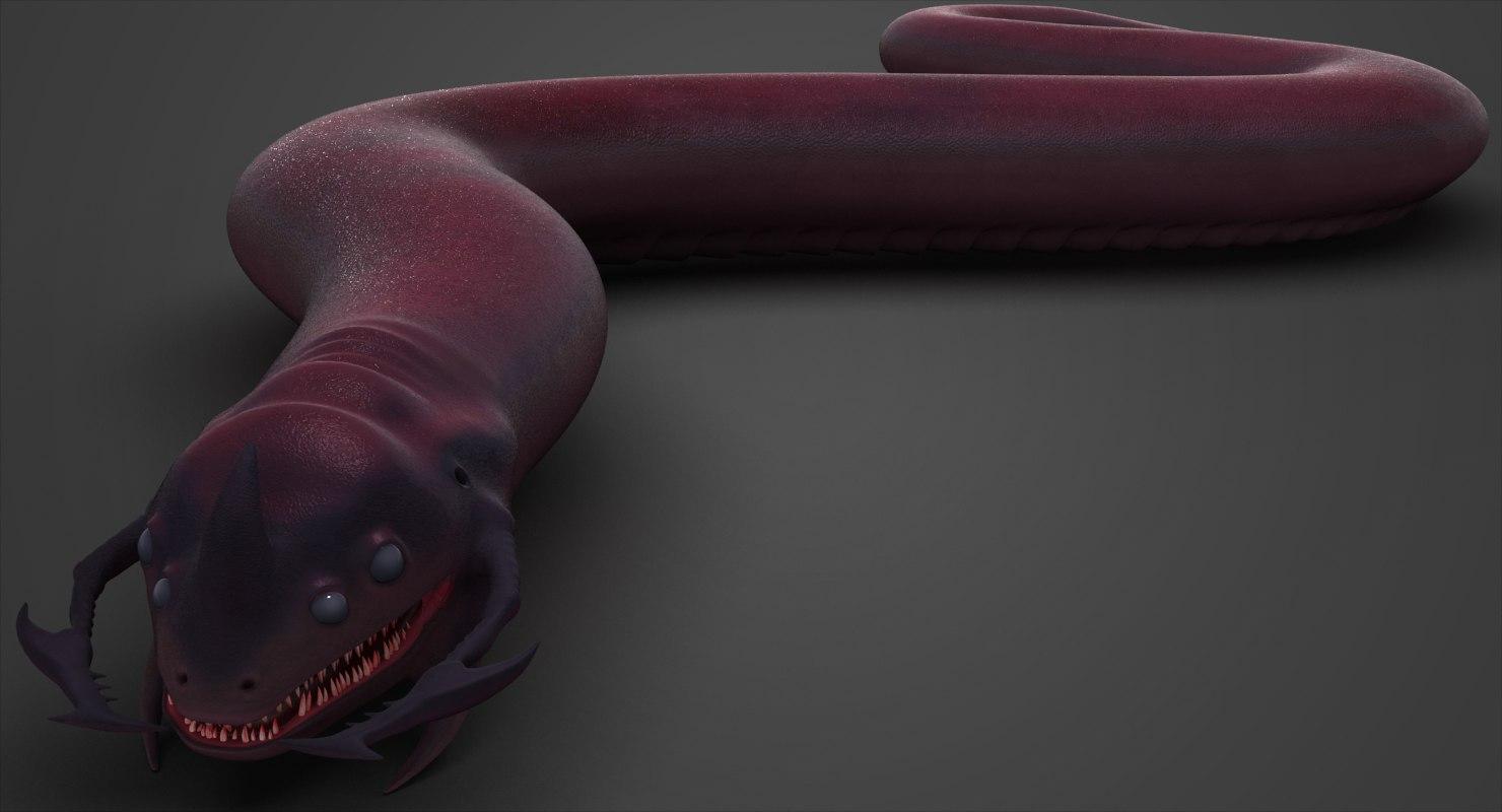 serpent monster model
