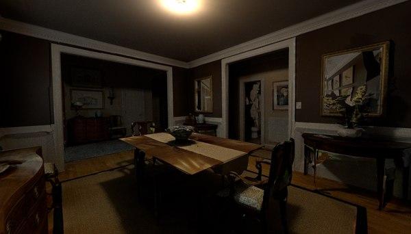 haunted home 1 3D model