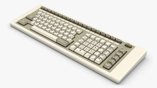 3D keyboard v 2 model