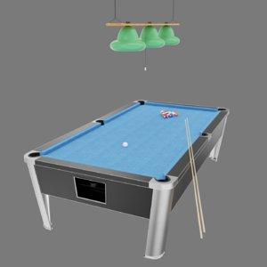 pool cue 3D model