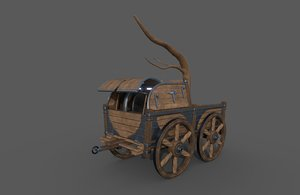 carriage - 03 3D model