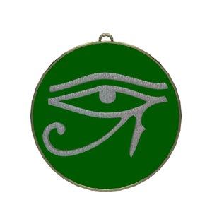 eye horus symbol 3D model