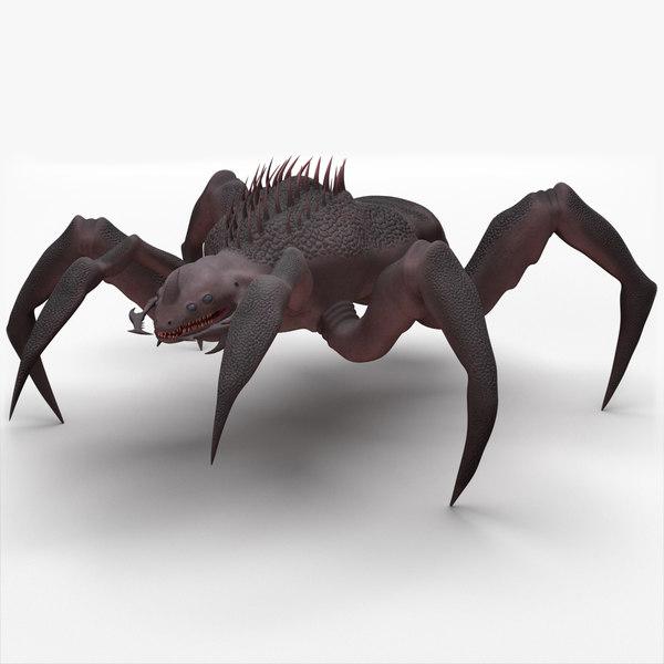 3D arachnid monster