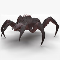 3D arachnid monster
