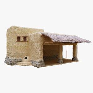 old arabic islamic house 3D