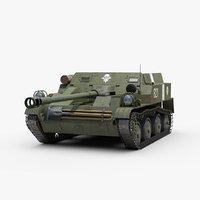 3D ww2 soviet asu 57