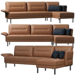 3D sede 840 sofa model