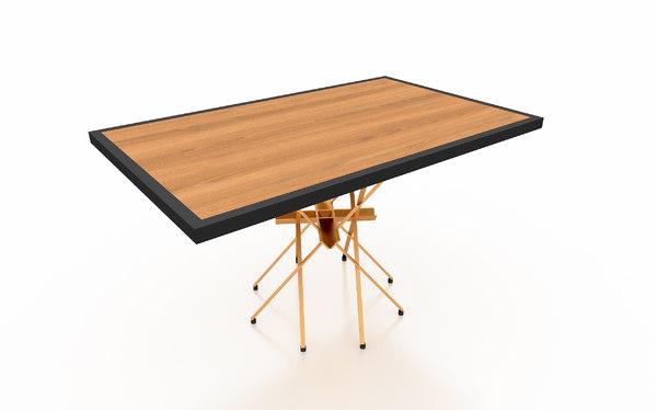 office table 3D model