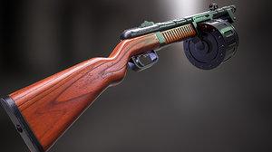 shotgun gun 3D