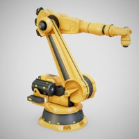 industrial robotic arm bot model