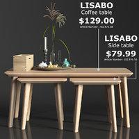 IKEA LISABO coffe table