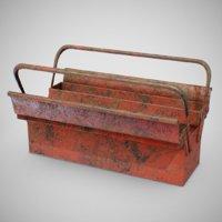 generic toolbox - tools 3D model