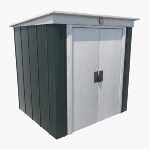 shed garden 3D model