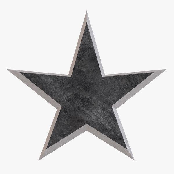 3D throwing star gohogata