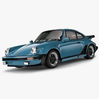 3D porsche 911 turbo 1982