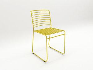 hollow chair hamm design 3D model