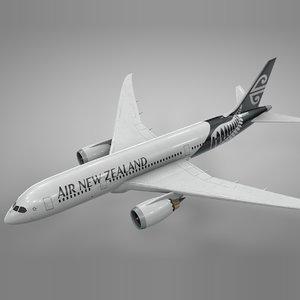 boeing 787 dreamliner air new 3D