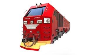 cc300 locomotives indonesia indonesian 3D model