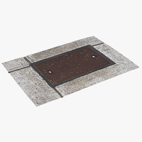 utility cover 4k scan 3D