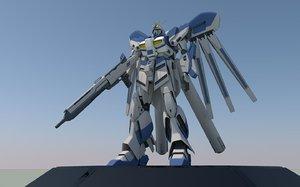 rx-93 gundam 3D