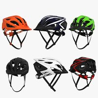 3D bicycle helmets model