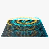 spiral hologram model