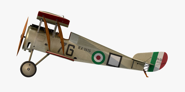 hanriot hd 1 scaroni 3D