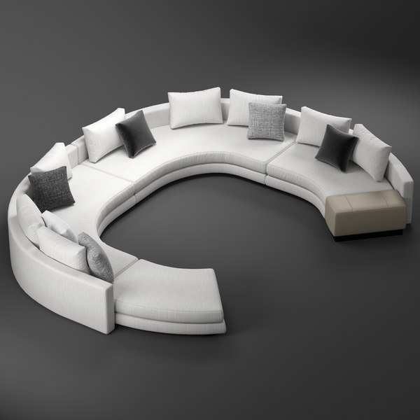 minotti daniels arrangement d 3D model