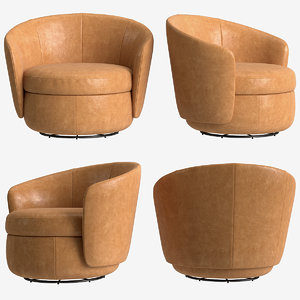 3D armchair delores model