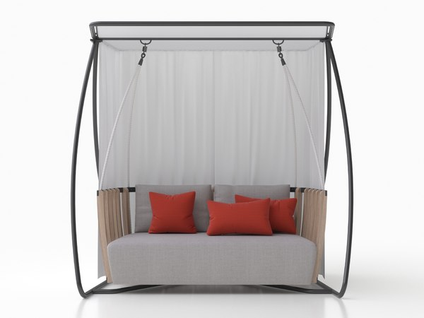 swing porch 3D model