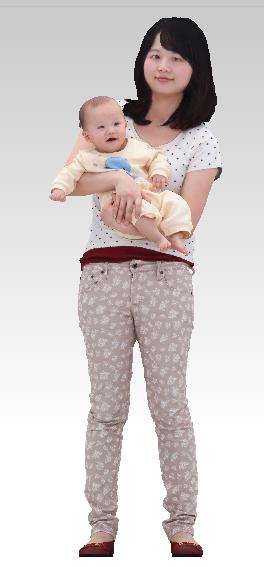 3D mother child
