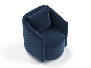 armchair garda decor 3D model