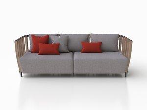 3D sofa xl ethimo