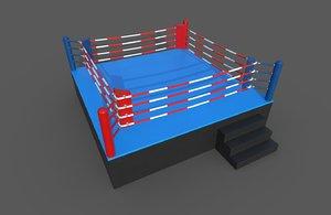 box ring 3D model