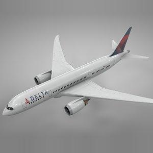 boeing 787 dreamliner delta model