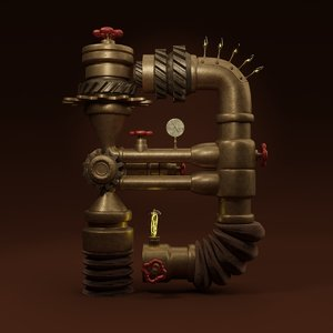 3D pipes b