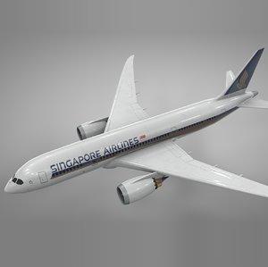 boeing 787 dreamliner singapore model