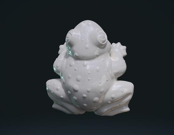3D frog fat