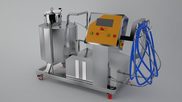 yogurt machine 3D model