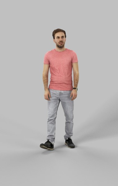 3D characters casual