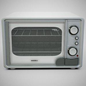 nardelli calabria oven - 3D