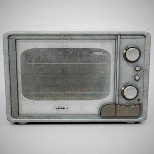 3D nardelli calabria oven - model